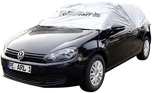PEARL Autohalbgarage: Premium-Auto-Halbgarage für Mittelklasse Kombi, 380 x 138 x 40 cm (Halbgarage wasserdicht)