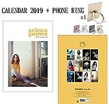 Selena Gomez calendario 2019 + anello del metallo e supporto per tutti i cellulari