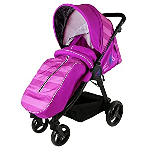 iSAFE Sail Stroller - 7 Colours! (Plum)   3