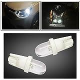 #9: Vheelocityin Oval Shape Car/Bike/ Scooty White Parking Bulb (set of 2)
