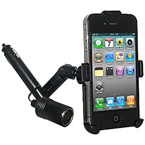 Amzer Support allume-cigare avec Power Dongle pour iPhone 4 et 4S