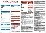 UTTSCHEID Affichage Entreprise obligatoire 2018-100% Complet - Plastifié - Feutre fourni