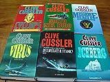 Lotto di 6 volumi Cyclop + Salto nel buio + Missione eagle + Virus + Recuperate il titaic + Iceberg Longanesi