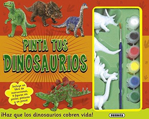 Pinta tus dinosaurios (Hazlo tú mismo) por Equipo Susaeta
