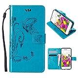 iPhone 5S Wallet Case, iPhone 5 Wallet Case, iPhone SE Bumper Case,Moon mood®...
