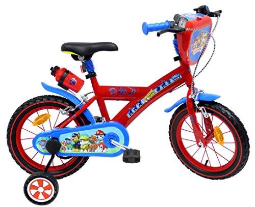 "EDEN-BIKES Pat Patrulla Canina Bicicleta Infantil, Multicolor, 14"""