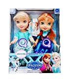 Frozen High Quality Anna & Elsa Dolls with Music Doll for Girls - 26 cms (Multicolor)