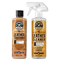 Chemical Guys Leather Cleaner and Conditioner Complete Leather Care Kit 16oz SPI_109_16