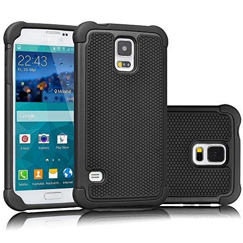 Galaxy S5Fall, tekcoo (TM) [tmajor Serie], Hybrid Gummi Kunststoff Impact Defender Rugged Slim Hard Case Cover Shell für Samsung Galaxy S5S V I9600GS5alle Netzbetreiber Verizon Samsung Jet