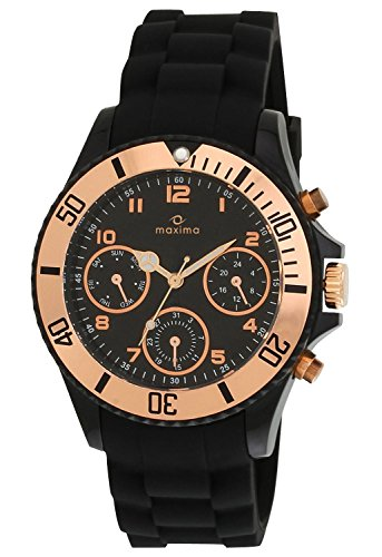 Maxima Hybrid Collection Analog Black Dial Men's Watch - 31331PPGN image