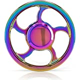 Waitiee Fidget spinner hand spinner Toy - haute vitesse inox roulements - parfait pour tuer le temps augmentant Focus, Concentration. Temps de Spin 2 à 5 Min (colour)