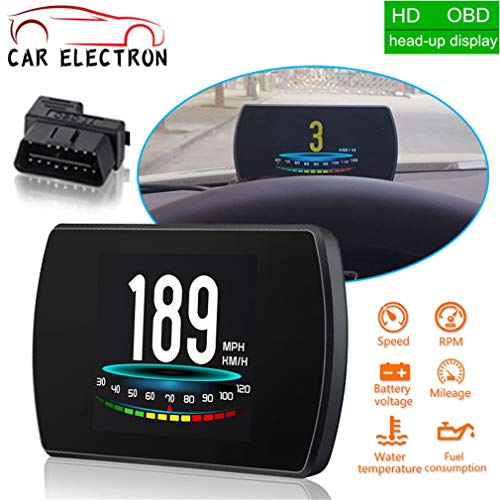 Auto Bordcomputer Auto Digital OBD Fahren Computer Display Heads Up Display HUD Für Autos GPS Tacho