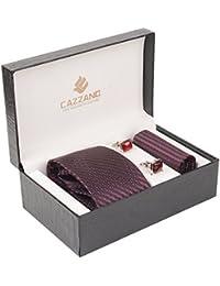 Cazzano Solid Men's Tie Set (TCPNC205)