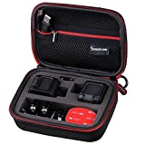 Smatree SmaCase GS75- Professional Case for GoPro HERO4 Session and Accessories (6.8 x2.7 x5 ) - with Excellent Cut Foam Interior