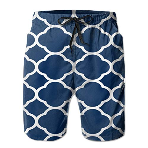 Fit Swim Trunks Big &Tall Half Pants for Boys Mens, Loose Quick Dry Swimwear X-Large Custom Fit Mesh Rugby