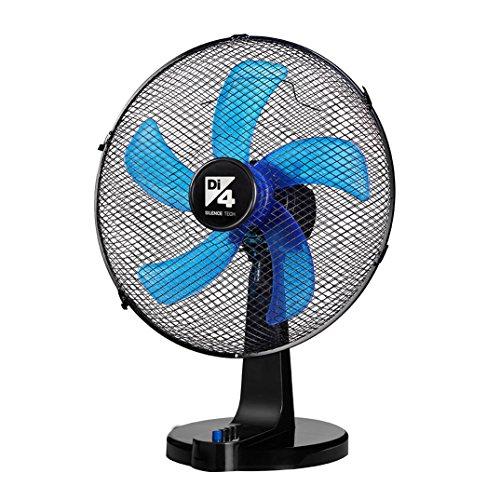 Di4 Aria Silence 40- Desktop Fan, 40cm Diameter, 5 Propellers and Right / Left Oscillation 90º