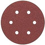 Bosch Professional  Schleifblatt für Exzenterschleifer Holz und Farbe (5 Stück, Ø 150 mm, Körnung 80, C430)