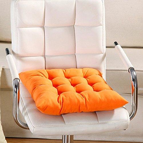 Almohadilla para asiento, 9 colores, lavable, cojín para silla de comedor, jardín,...