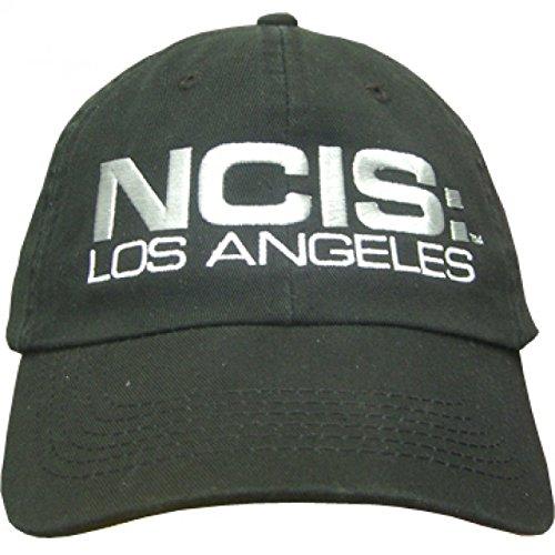 Navy CIS , NCIS: Los Angeles - Logo Hat Basecap Cap Mütze black / schwarz , NEU , Logo ( silbergrau und weiß ) aufgestickt! NCIS , Kostüm , Karnevall , Fasching