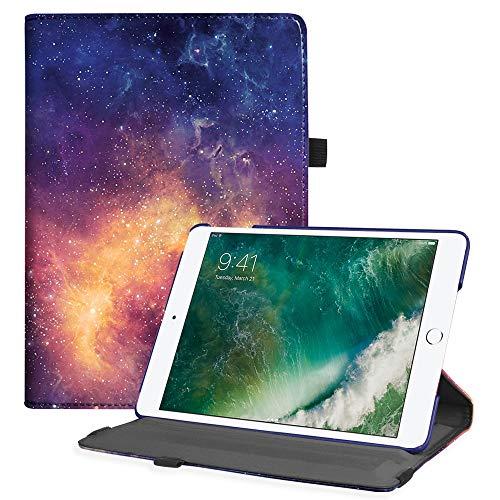 Fintie Funda para iPad 9.7 2018/2017, iPad Air 2, iPad Air - Carcasa de Múltiples Ángulos con Función de Soporte y Auto-Reposo / Activación, Galaxy