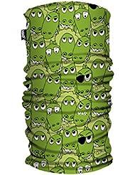 H.A.D niños Impreso paño grueso y suave de múltiples funciones Headwear de la bufanda del tubo - HA492-0203 cocodrilo