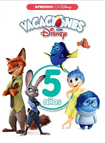Vacaciones con Disney. 5 años (Aprendo con Disney) por Disney