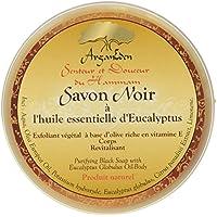 Arganeden sapone scrub con eucalipto 150g Black