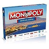 Winning Moves- Gioco da Tavolo-Monopoly Città di Napoli Edizione da Collezione, 31110