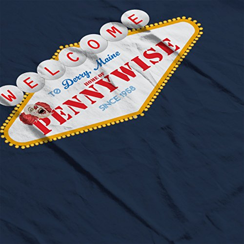 Welcome To Pennywise Home Of Derry Maine IT Women's T-Shirt Navy blue