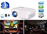 Portable Mini Projector LCD LED Portable...