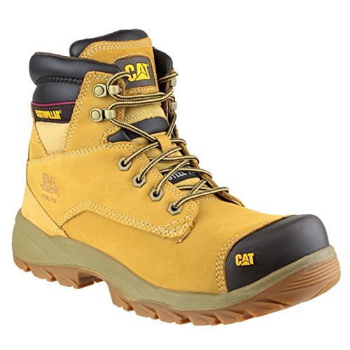 Caterpillar, Scarpe antinfortunistiche uomo, Giallo (Miele), 11 UK