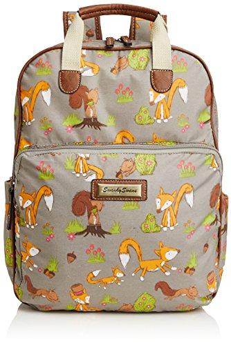 swankyswans-womens-freddie-fox-print-essex-backpack-handbag-grey