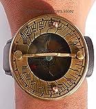 Sabri Home Gifts - Brújula de Reloj con Correa de Piel