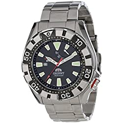Orient Men's M-Force Stainless Steel Automatic Diver's Watch