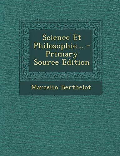 Science Et Philosophie...