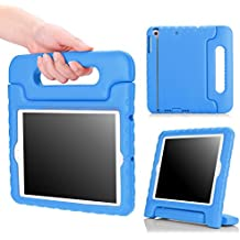 MoKo Funda para iPad Mini 3 / 2 / 1 - Shock Proof Material EVA Lightweight Kids Protector Cover Case con Manija para Apple iPad Mini3 / Mini2 / Mini1 7.9 Pulgadas Tableta, AZUL