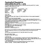 Croston Corn Mill 25kg Poultry Grower Pellets - 16% Protein + ACS 6
