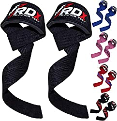 RDX Fitness and Bodybuilding Pull Ups, Black, One Size