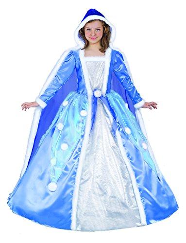 Ciao–Prinzessin Schneeflocke Kostüm Taglia M (8-10 anni)