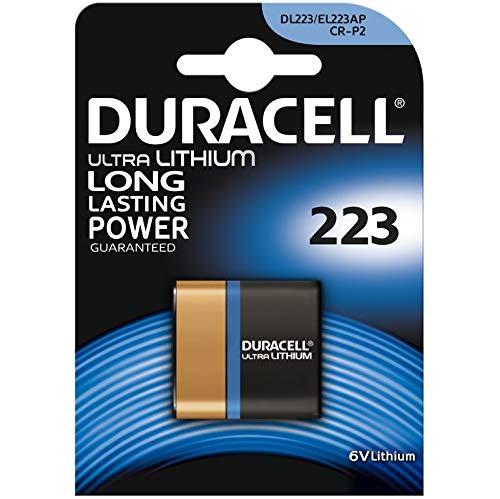 Duracell Ultra Lithium Batterie 223 (CR-P2) 1er Duracell Crv3 Batterie