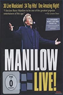 Manilow Live! [Blu-ray] by Barry Manilow (B002DTTPB6) | Amazon price tracker / tracking, Amazon price history charts, Amazon price watches, Amazon price drop alerts