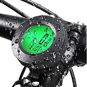 518iitKDwDL. SS300 Contachilometri Bici Senza Fili,Contachilometri Bici,Computer da Bicicletta,Multifunzione Contachilometri da Bicicletta…