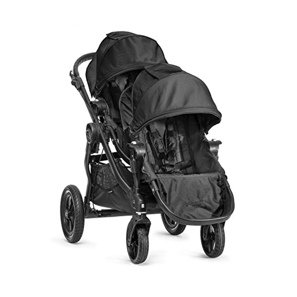 Baby Jogger City Select Single Stroller Black  From 6 months -15 kg Patented Quick-Fold Technology- fold your stroller in one step 16 possible seating combinations (with double conversion kit sold separately) 10
