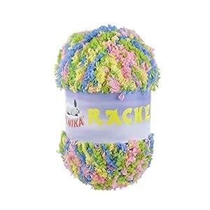 Softfaser-pelote de rACHEL by vLNIKA no. 82/multicolore 50 g