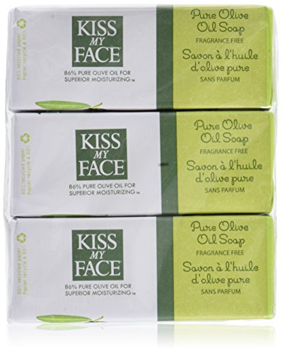 Kiss My Face Soap Bar Olive Oil 8oz. (6 Pack)