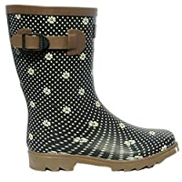 Northwest Territory Womens Girls Waterproof Wellington Wellies Winter Boots