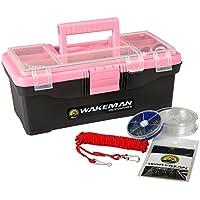 Wakeman Angeln Single Tray Tackle Box 55PC Tackle Kit