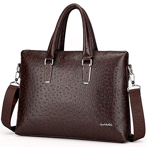 Tragbare Umhängetasche, Modischen Tasche, Modischen Tasche, Computer - Tasche brown