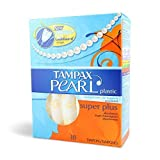 Pearl Plastic Super Plus Unscented by Tampax Bild