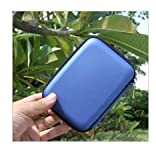Multifonctions etui Sac Housse Pochette Case rigide pour disque durs externes portables anti-choc l'eau - Rectangle